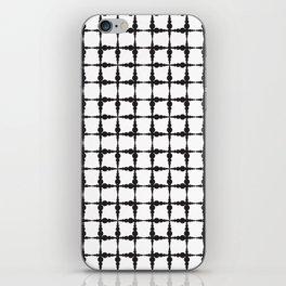 Corpuscle pattern iPhone Skin