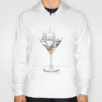 martini Hoodies featuring Martini by Giorgio Arcuri