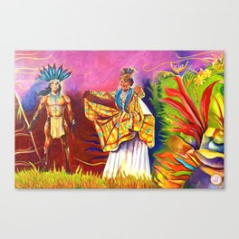 Kalinago and Creole Wear - Mural Canvas Print