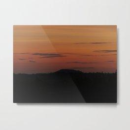Somerset Sunset Metal Print