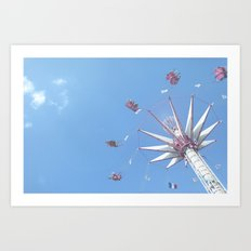 Paris Swings Art Print