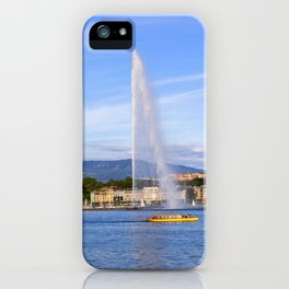 Jet d'Eau iPhone Case