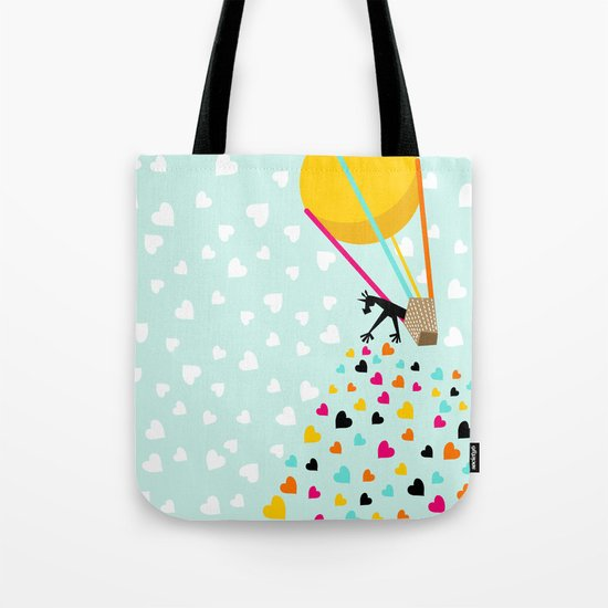 Keep spreading the love Tote Bag