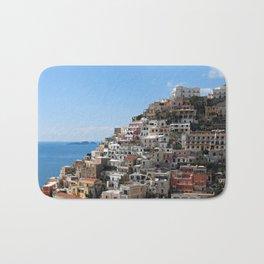 Town Of Positano, Amalfi Coast Bath Mat