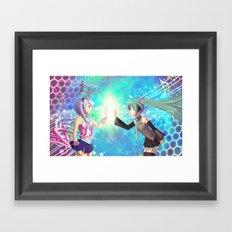 Hatsune Miku & Maika Framed Art Print