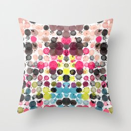 Paint Ball Party! Throw Pillow