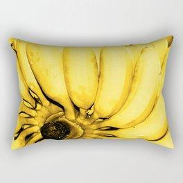 Yellow bananas Rectangular Pillow