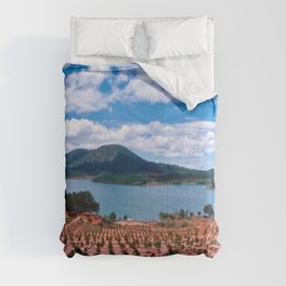 Magic Lake of Central Highland in Vietnam Comforters