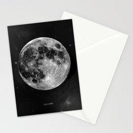 La Lune, Moon Stationery Cards