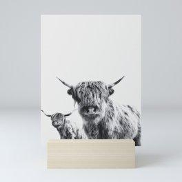 HIGHLAND COW - LULU & SARA Mini Art Print