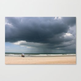 A Peaceful Day At The Seaside Canvas Print