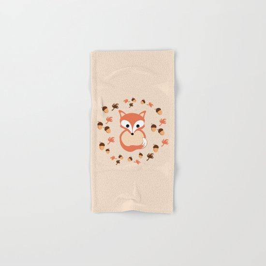 Fox in autumn Hand & Bath Towel
