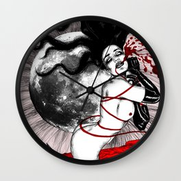 Russian Roulette Wall Clock