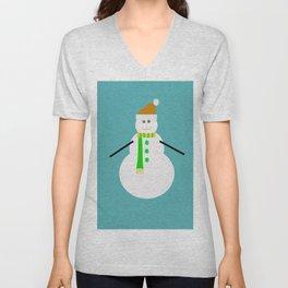 Snowman Unisex V-Neck