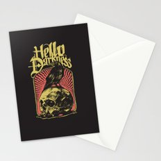 Hello Darkness Stationery Cards