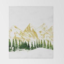 mountain # 8 Throw Blanket