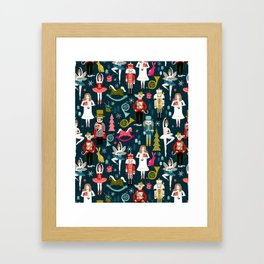 Nutcracker Ballet by Andrea Lauren  Framed Art Print