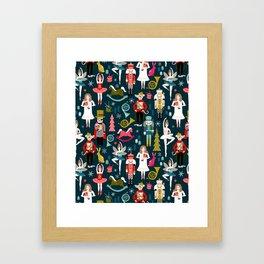 Nutcracker Ballet by Andrea Lauren  Framed Art Print