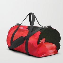 Red Tulip Duffle Bag