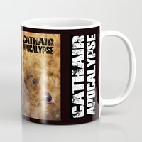 book cover Mugs featuring Cathair Apocalypse Book 1 Cover by Cathair Apocalypse