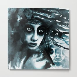 Vanishing siames Metal Print