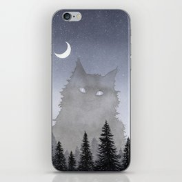 Giant Forest Cat iPhone Skin