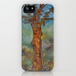 """Totem Tree (i)"" by ICA PAVON iPhone Case"