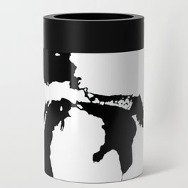 Map of the Great Lakes Can Cooler