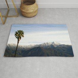 Southern California Snow Rug