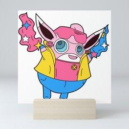 Wigglytuff x Jubilee Mini Art Print