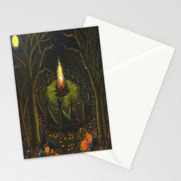 Halloween Bonfire Stationery Cards