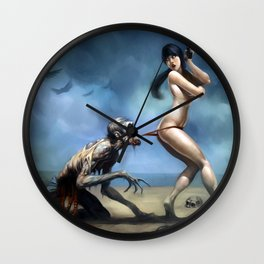 WELCOME TO MIAMI, Zombie years Cover Wall Clock