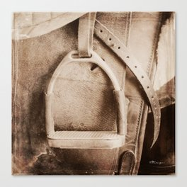 SADDLE STIRRUP Canvas Print