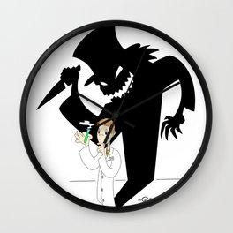 Jekyll & Hyde Wall Clock