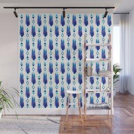 Crystal Blues Wall Mural