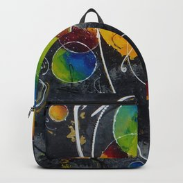 Fire against ice Backpack