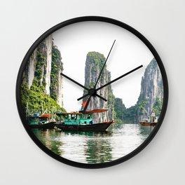 Ha Long Bay Wall Clock