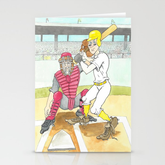 Beanball Stationery Cards