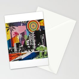 the city 6 Stationery Cards
