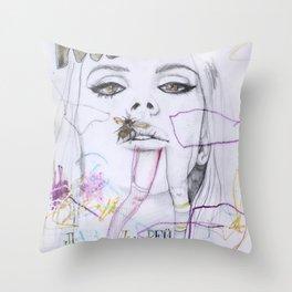 Interview Throw Pillow