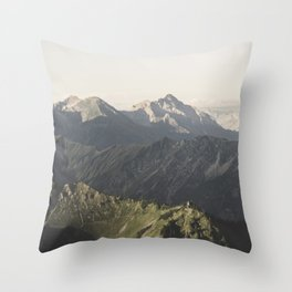 Wild Hearts - Landscape Photography Throw Pillow