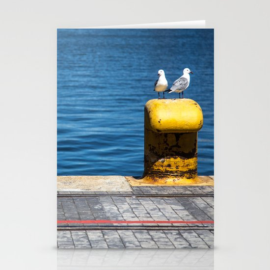 Two gulls Stationery Cards