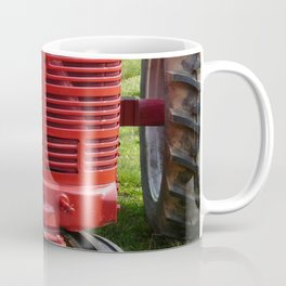 Red Farmall Tractor Coffee Mug