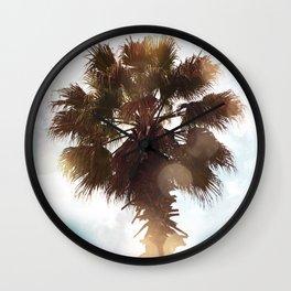 Glowing Palm Wall Clock