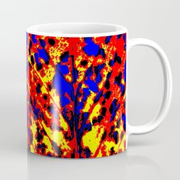 Fire Tree Pop Art Coffee Mug