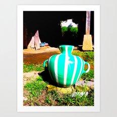 Pottery  Art Print