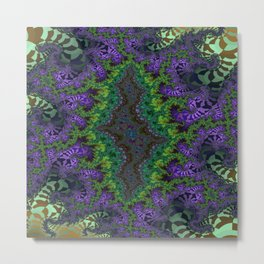 Fractal Abstract 91 Metal Print