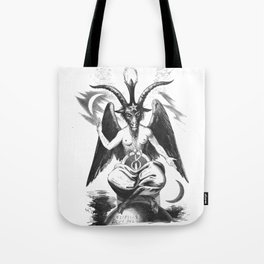 Baphomet - Satanic Church Tote Bag
