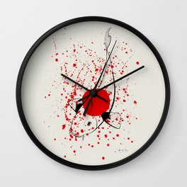 Bleeding Japan Wall Clock