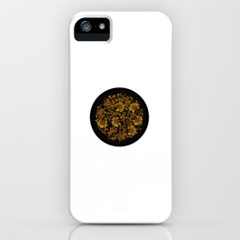Russia Khokhloma Flowers and Leaves iPhone Case